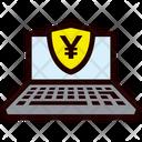 Payment Laptop Yen Icon