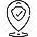 Refugee Entry Pin Icon