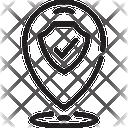 Secure Location Icon