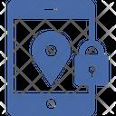 Location Safety Location Lock Secure Location Icon