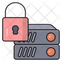 Lock Secure Database Icon