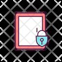 Secure Locked Door Icon