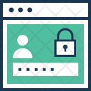 Secure Login Security Icon