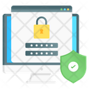 Secure Login Web Safety Web Login Icon