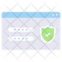 Protection Password Icon