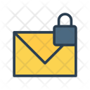 Mail Lock Secure Icon