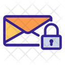 Mail Lock Cipher Icon
