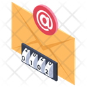 Secure Mail Mail Security Secure Envelope Icon