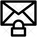 Secure Mail Lock Envelope Icon