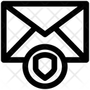 Shield Secure Mail Envelope Icon