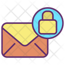 Email Lock Secure Message Message Lock Icon