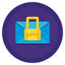 Secure Message Encrypted Gdpr Icon