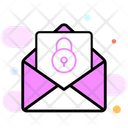 Secure Messaging Encrypted Message Secure Chat Icon