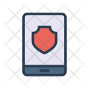 Secure Mobile Phone Icon
