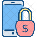 Secure Mobile Banking Icon