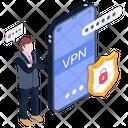 Vpn Security Secure Mobile Vpn Mobile Vpn Icon