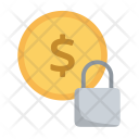 Secure Money Finance Icon