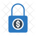 Lock Secure Dollar Icon