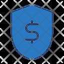Dollar Shield Protection Icon