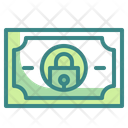 Secure Money Security Lock Icon
