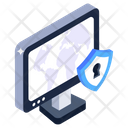 Secure Monitor Icon