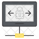 Secure Network Secure Device Secure Sharing Icon