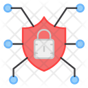 Secure Network Protection Network Safety Network Icon