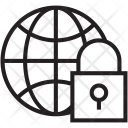 Secure Network Lock Icon