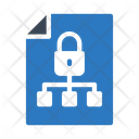 Secure Network File Icon