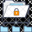 Secure Network Folder Icon