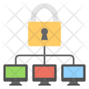Secure Networking Safe Icon