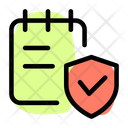 Secure Note Notes Book Notes Icon