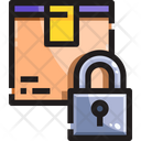 Lock Locker Secure Parcel Icon