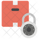 Locked Package Package Protection Secured Delivery Icon