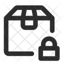 Product Package Secure Icon