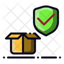Secure Package Delivery Icon
