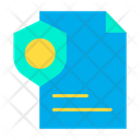 Page Secure Page Safe Document Icon