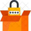 Secure Parcel Secure Package Parcel Security Icon