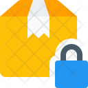 Secure Delivery Box Icon