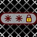 Secure Password Internet Icon