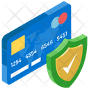 Secure Payment Card Safety Payment Gateway Icon