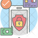 Secure Payment Money Security Safe Money Icon