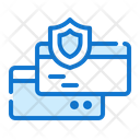 Secure Payment Computer Security Icon