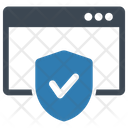 Internet Banking Protection Safe Icon