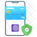 Mobile Payment Secure Transaction Digital Payment Icon