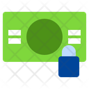 Locked Investment Coin Icon