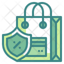 Secure Payment Security Bag Icon