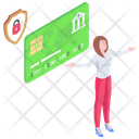 Banking Protection Secure Payment Secure Card Icon