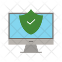 Secure Pc Security Computer Icon