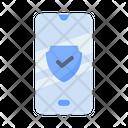 Phone Shield Safe Icon